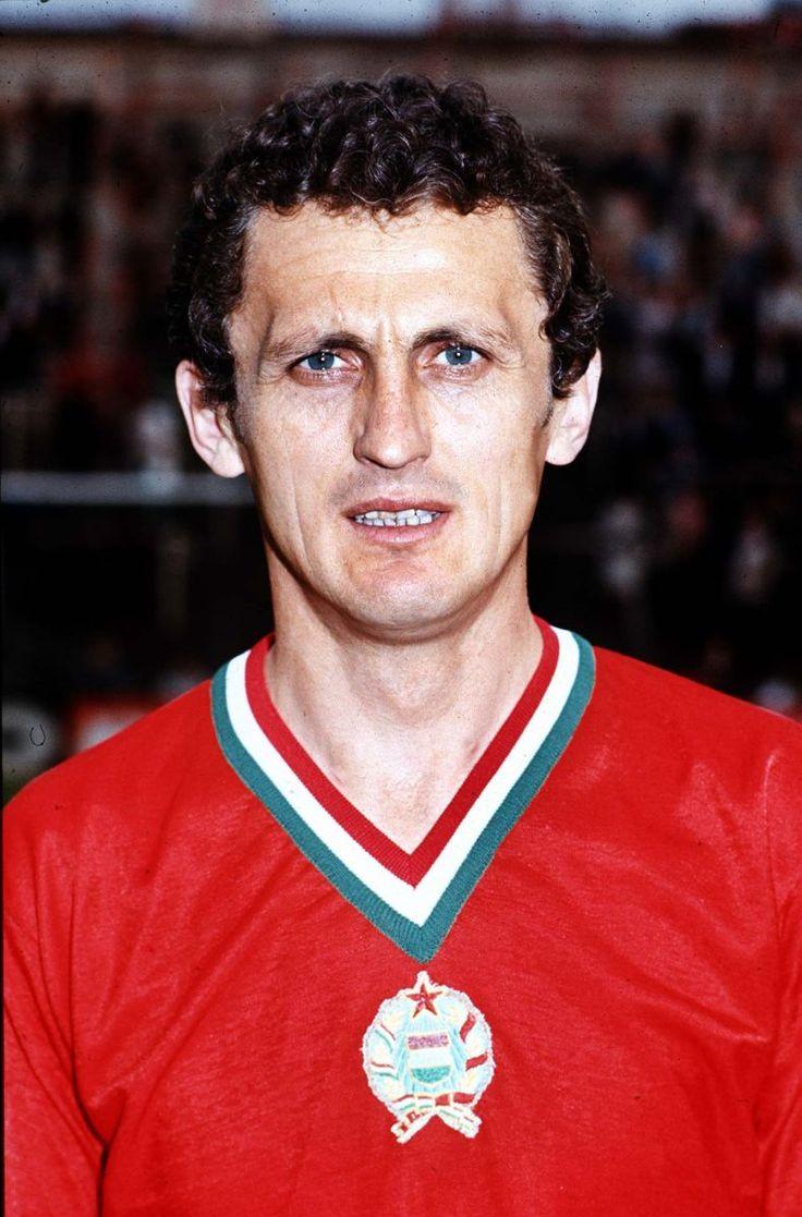 Florian Albert, winner of the 1967 Ballon d'Or.