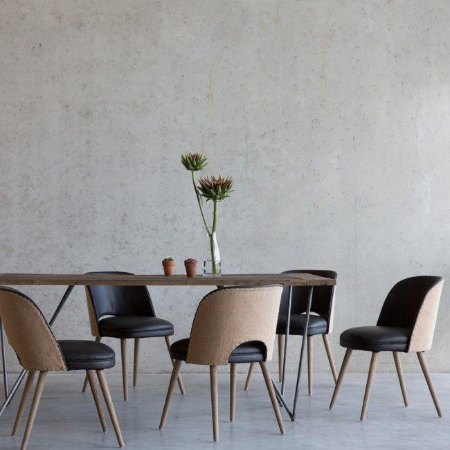 17 beste afbeeldingen over woonkamer op pinterest tapijten metalen stoelen en charles eames - Moderne eettafel ...