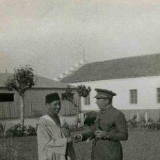 Cría caballar. Larache. Actual Marruecos. Militares. Autoridades. c. 1941