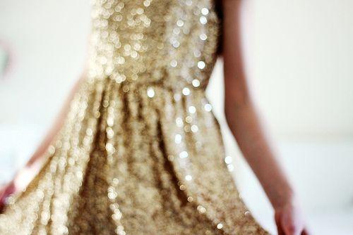 Found on allthingsgirlyandbeautiful.tumblr.com via Tumblr: Style, Clothes, Dream Closet, Gold Glitter Dresses, Sparkle