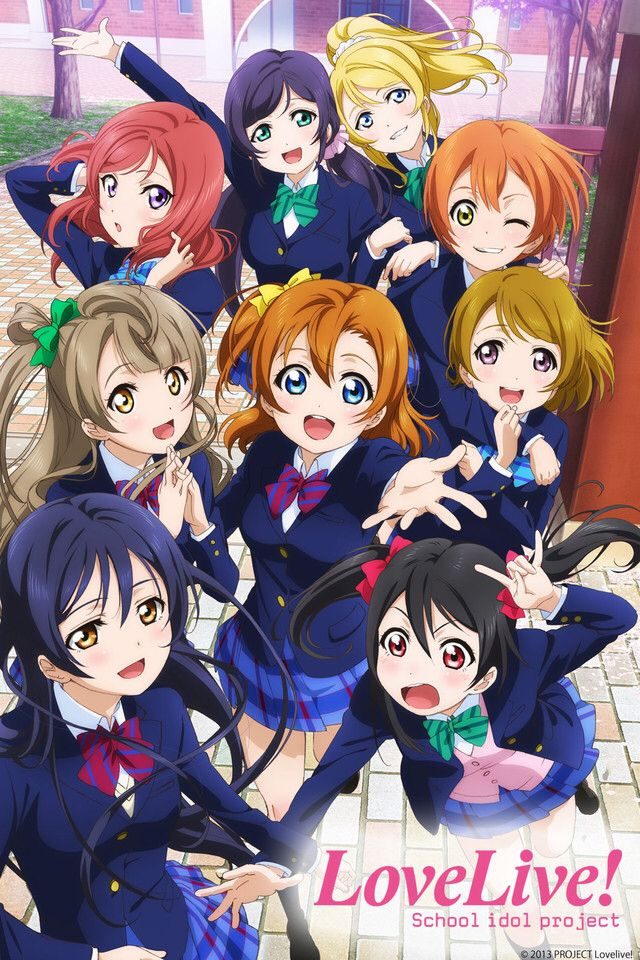 Love Live! School Idol Project (Season One) I am trash for not watching this sooner.