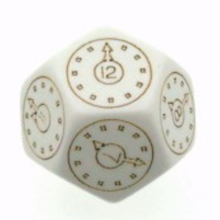 Chessex Time Dice, Unusual Dice, Rare Dice