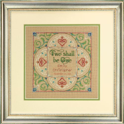 dimensions needlecrafts counted cross stitch kit two as one wedding record dimensions needlecrafts http