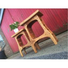 European Oak Side Table