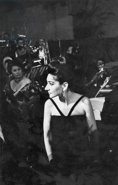 Maria Callas, Paris