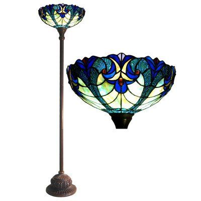Save $ 74.44 order now Tiffany Style Victorian Torchiere Floor Lamp at Best Tiff
