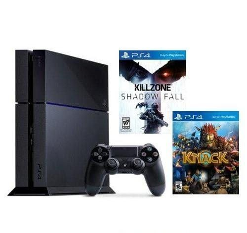 Sony PS4 500GB Console Bundle with Killzone and Knack
