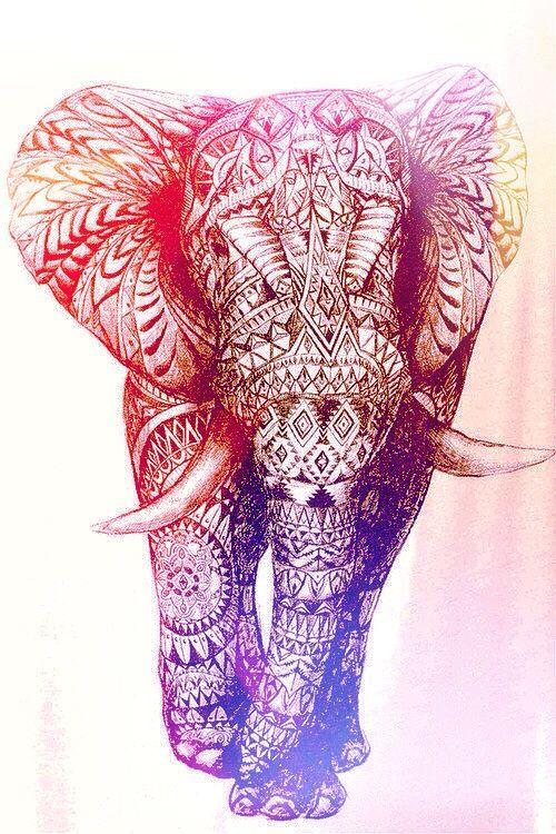 Cute Elephant Design Wallpaper Pin Do A Sara Correia Em Phone Wallpapers Art Elephant