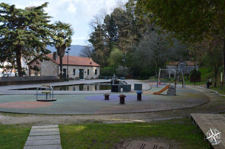 Parque de los sentidos en Marín - Tornillo de Arquímedes