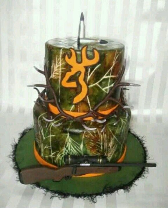 Camo Cake Ideas Cakepins Com Cake Decorating Pinterest