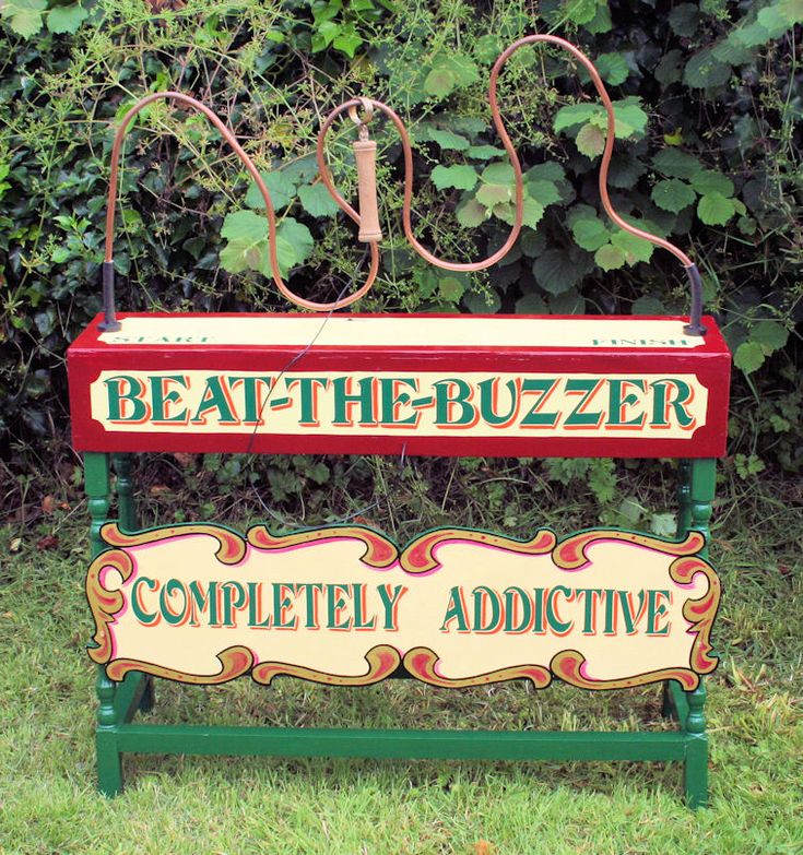 beat the buzzer game perfect for a village fete style wedding or party can
