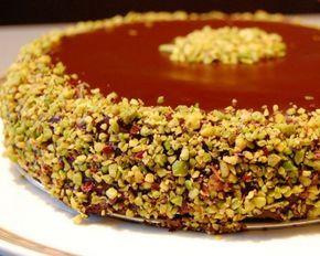 La Tarantolata: Torta cioccolato e pistacchi (da una ricetta della bravissima Panettona)