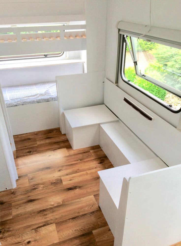 Wohnwagen Camping Glamping Wohnwagen Renovierung So haben wir unseren Wohnwagen …   – camping