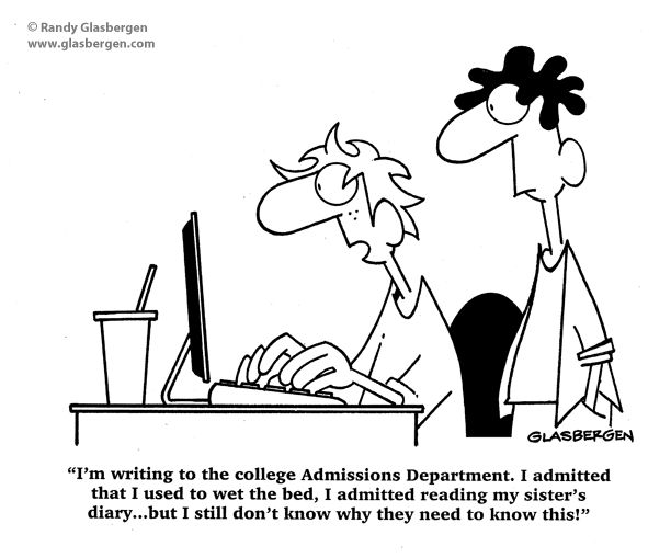 college admission essay humor Stressing about your college admission essay learn how you could write the perfect essay that is sure to give you that extra boost.