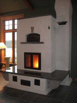 Masonry Heater & Wood Fired Oven - Maine Wood Heat Co.