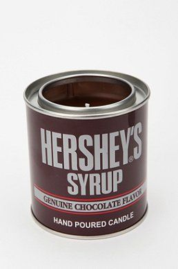 Hershey's Syrup Candle..these smell so good: Syrup Candle, Gift, Urban Outfitters, Tins, Candles
