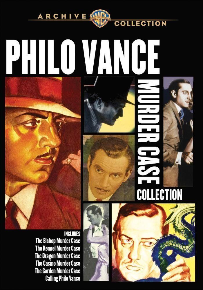Amazon.co.jp   PHILO VANCE MURDER CASE COLLECTION DVD・ブルーレイ -