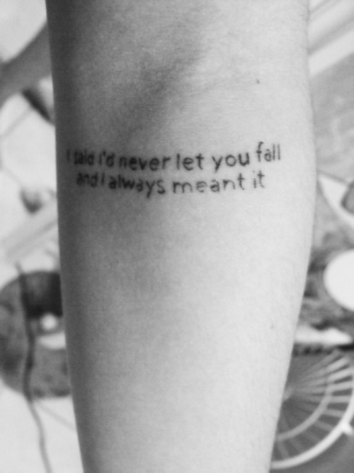 a day to remember tattoo....i love ADTR   Ink   Pinterest A Day To Remember Quotes Tattoos