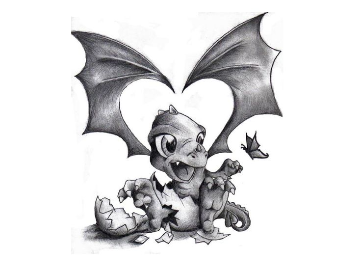 Cute dragon tattoos for women images of small tattoo for Baby dragon tattoos