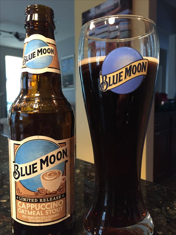 Blue Moon's Cappuccino Oatmeal Stout is back!!