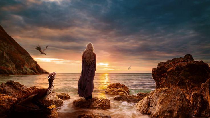 Daenerys Targaryen WallPaper HD - http://imashon.com/tv-series/daenerys-targaryen-wallpaper-hd.html
