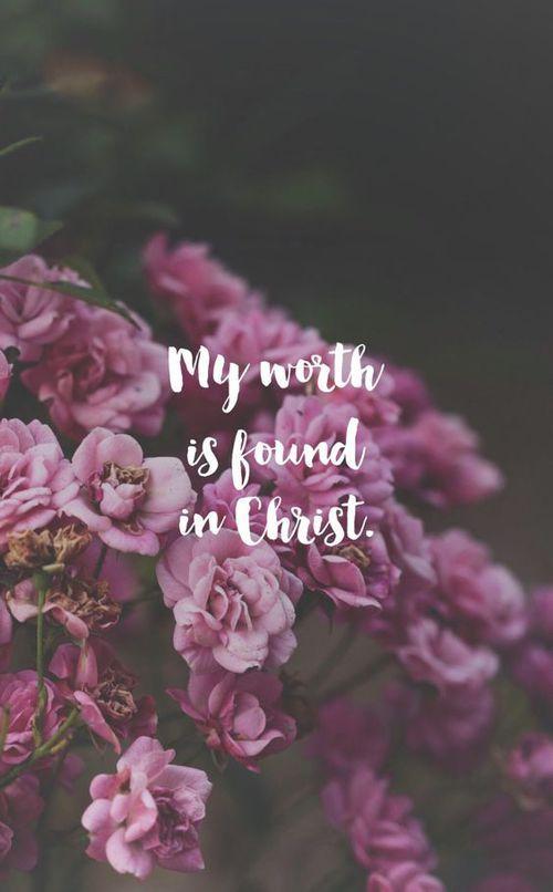 My worth is found in Christ ⋘ B e l l a ★ M o n t r e a l ⋙