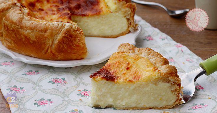 Flan parisien una torta francese, facilissima da preparare, cremosa e che ricorda molto anche i pastis de nata portoghesi.