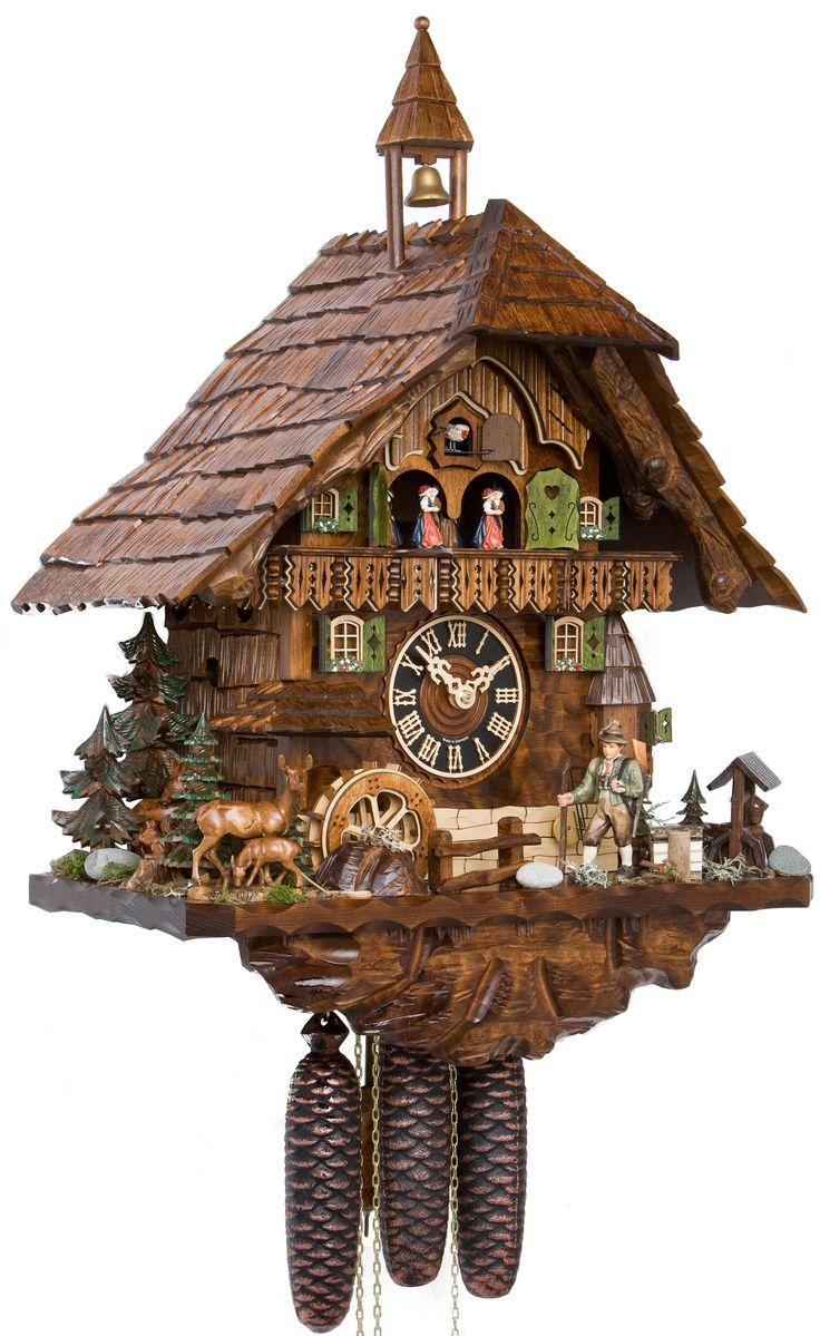 black forest imports inc clocks cuckoo clocks 8 day chalet music - Black Forest Cuckoo Clocks
