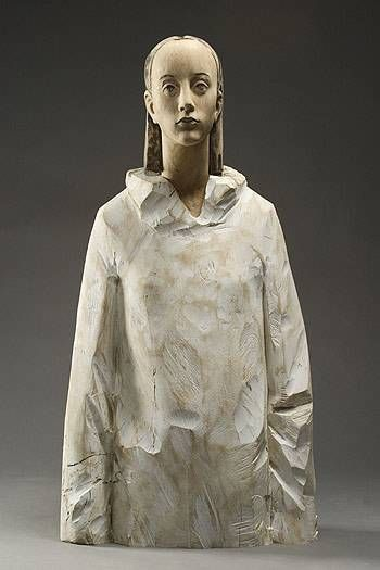 Aron Demetz, wood sculpture