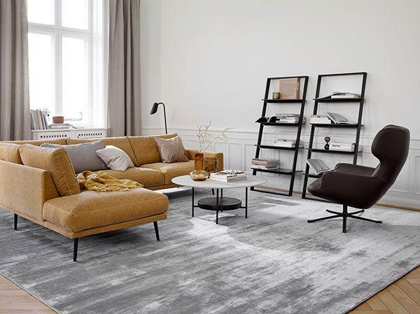 Modulsofa Miami Hjorne Sofa Med Puff Pa Venstre Side Scandinavian Sofas Scandinavian Sofa Design Contemporary Furniture Design