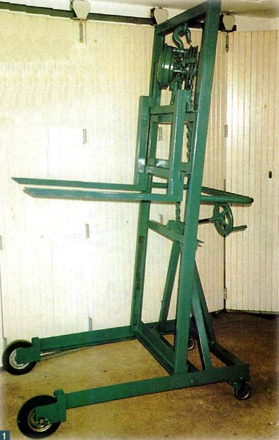 Homemade Forklift Boom : Best images about crane rigs gantry slewing