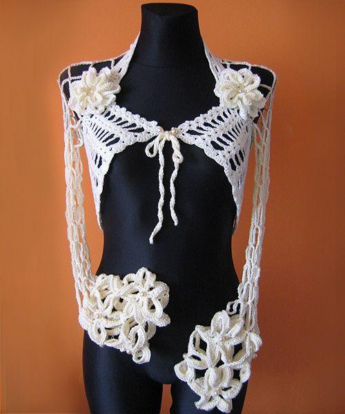 www.polandhandmade.pl, #polandhandmade, #bolero, #crochet