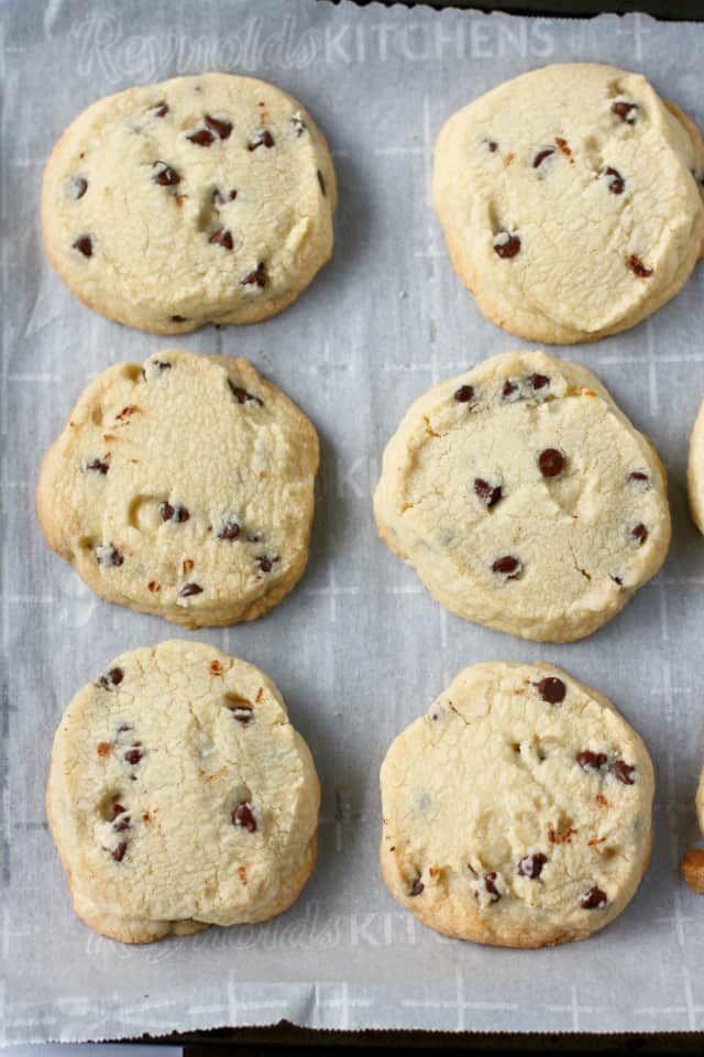 Gluten Free Slice and Bake Shortbread Cookies