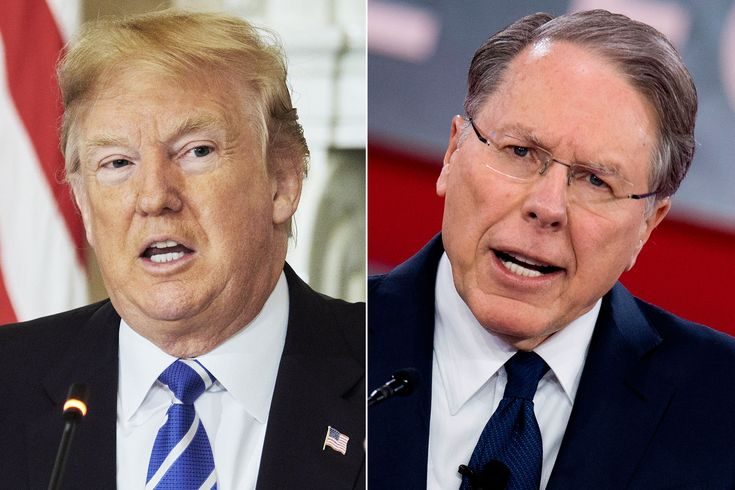 ICYMI: The NRA's Wayne LaPierre and Trump Are Using the Same Playbook to Respond to Parkland