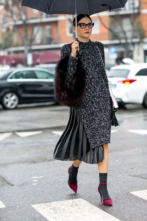 Плиссировка - удобный зимний тренд : Мода : Стиль жизни : Subscribe.Ru