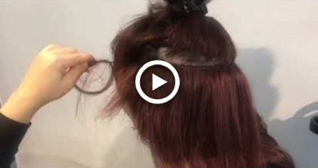 Quick weft rows on very thin hair (Caucasian weave…