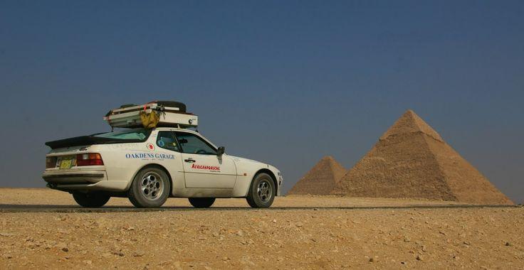 Porsche 944 across Africa – Expedition Portal