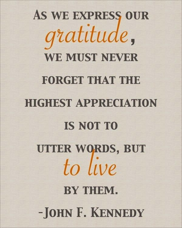 John F Kennedy Gratitude Quote: 18 Best Gratitude And Honesty Quotes Images On Pinterest