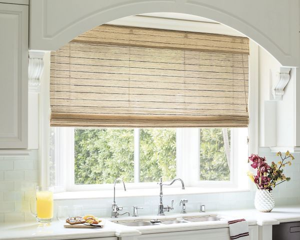 Natural woven flat fold shades 15361 house pinterest for Natural woven flat fold shades
