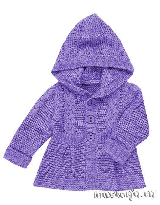 Вязаный жакет-пальто для девочек  http://masterju.ru/dlja-detej/208-vyazanyy-zhaket-palto-dlya-devochek.html
