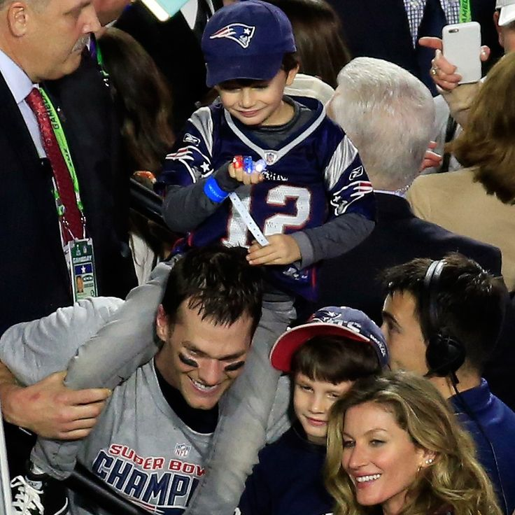 Tom Brady Wins Super Bowl MVP and Award For Cutest NFL Family: All eyes were fixated on Tom Brady as he led the Patriots in the Super Bowl — but we were distracted by his supercute family!