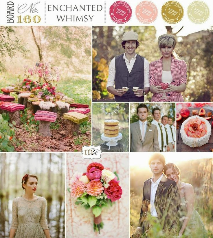 Вдохновение: палитры для летних невест   Свадебная невеста - www.wedding-bride.ru