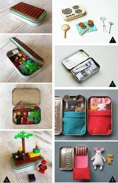 22 DIY avec des boites d'Altoids