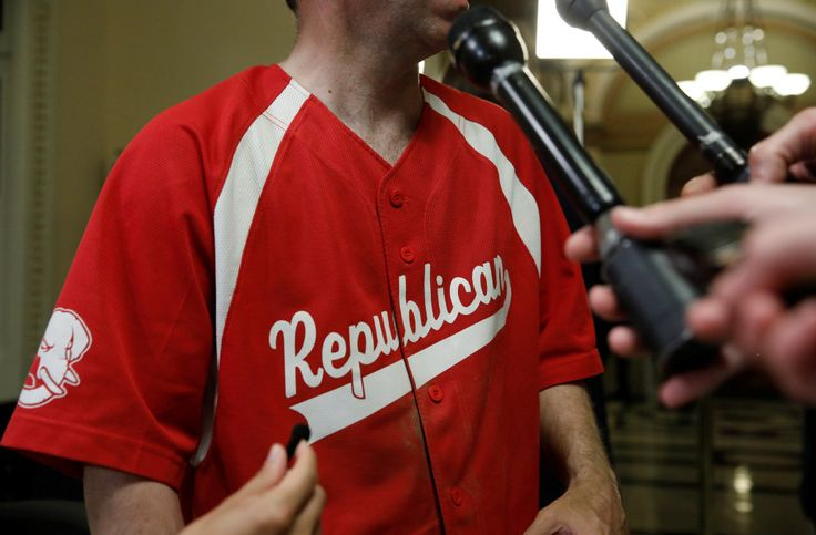Left-wing Twitter users called out for 'celebrating' GOP baseball shooting