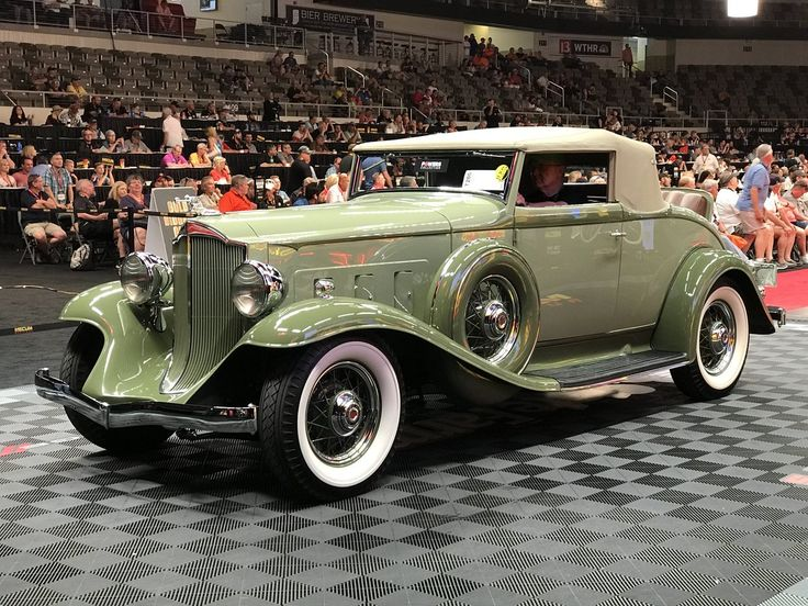 1932 Packard Light 8 Coupe Roadster With Images Classic Cars