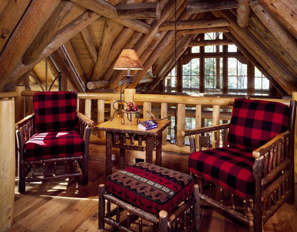 71 best adirondack decor images on pinterest log houses - Adirondack style bedroom furniture ...