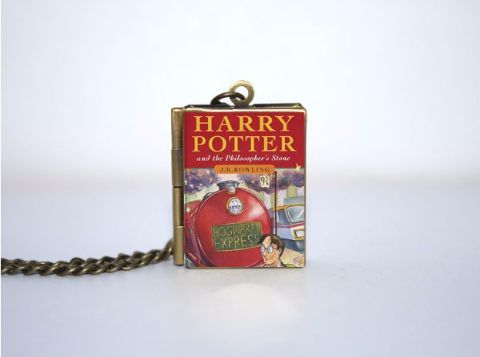 Harry Potter Philososphers Stone Book locket