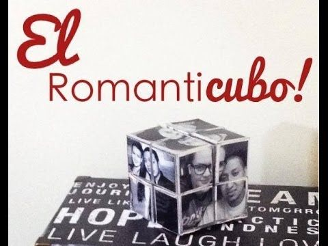regalo de ultimo minuto! creativo y super facil... MATERIALES 12 fotos 8 cajitas de carton tape adhesivo doble cara cortadora de papel o tijeras papel decora...