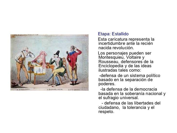 La separación de poderes es una parte indispensable de la ideología de la Revolución