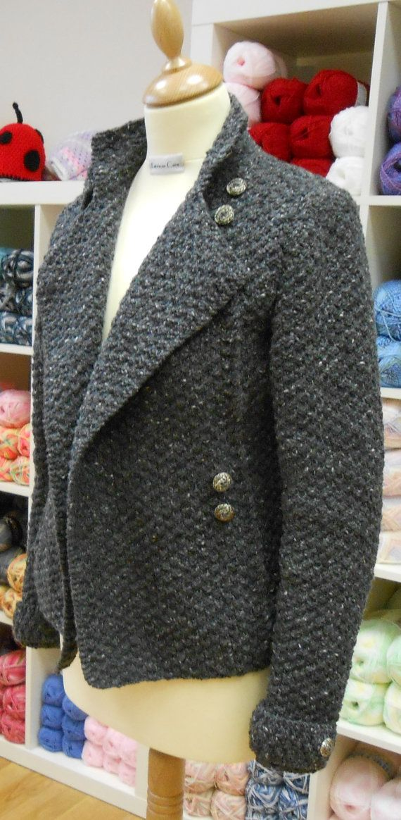 This is a PDF knitting pattern for the military jacket, available for immediate download. This is a very versatile jacket, as it can be worn many Favourite